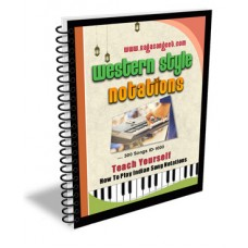 Bollywood Songs Western Notations e-Book ID-1000