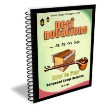 Bollywood Songs Desi Notations e-Book ID-2000