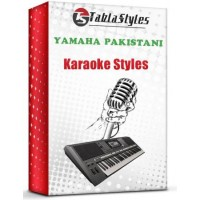 Sanu ik pal chain na aawey Yamaha Pakistani Karaoke Style