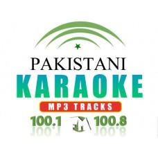 Aaj jane ki zid na karo Pakistani Karaoke Track